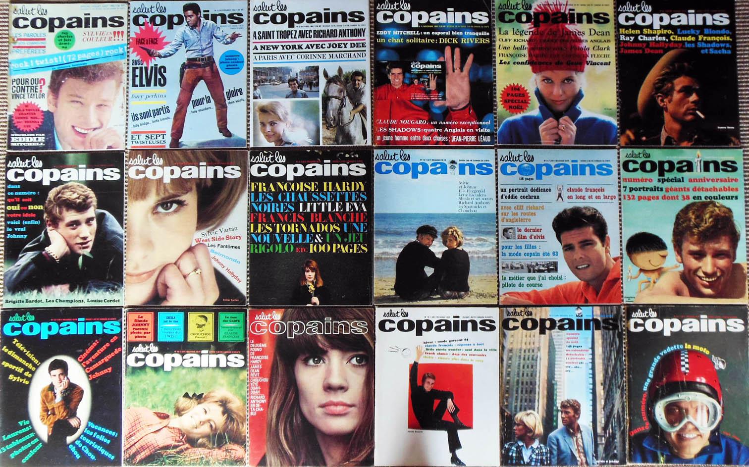 3f7a932363e Salut les Copains   autres magazines de collection (60s