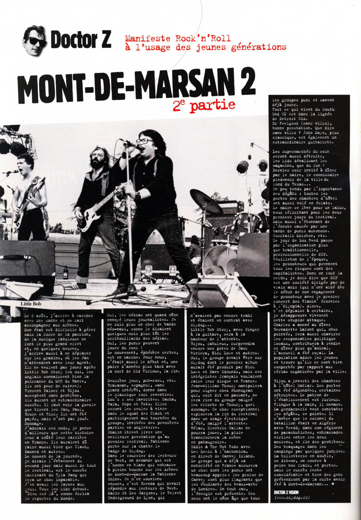 dans rock en stock festival punk mont de marsan 1977. Black Bedroom Furniture Sets. Home Design Ideas